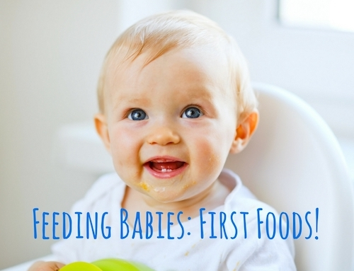 First Foods: Traditional or Baby Led Weaning?