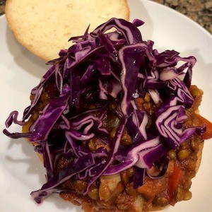 Simple Bites Lentil Sloppy Joes