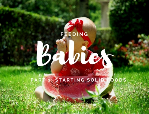 Feeding Babies Part 1: Starting Solid Foods