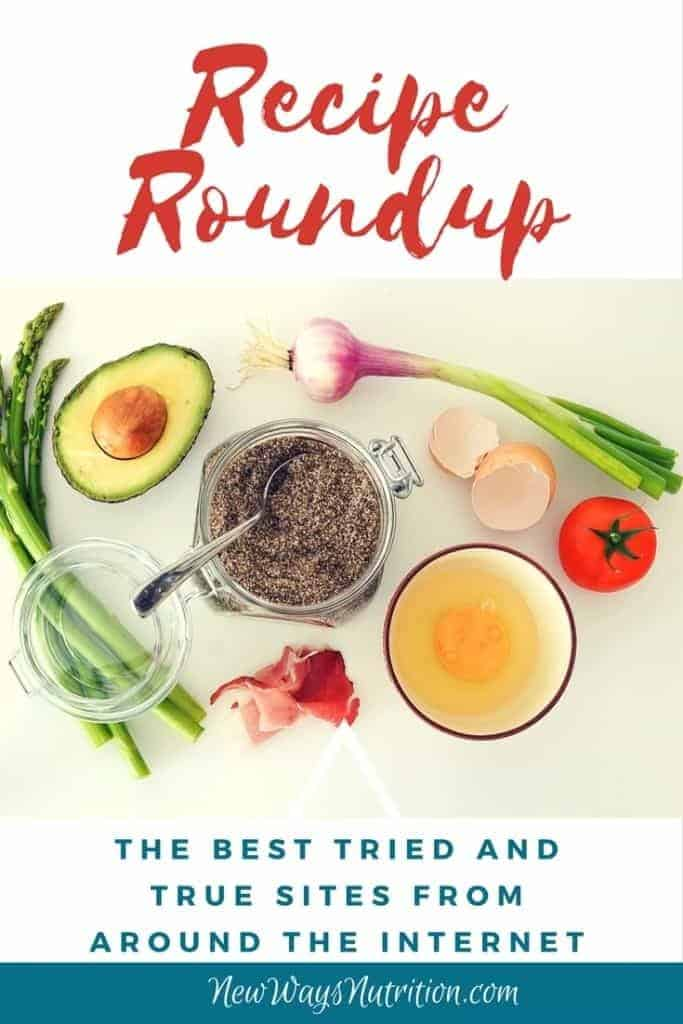 Recipe Resources Roundup- A collection of the best delicious, nourishing recipe resources from around the internet for those days when you just need a reliable healthy recipe that works!