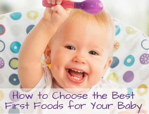 What Nutrients Are Important in My Baby's First Foods?