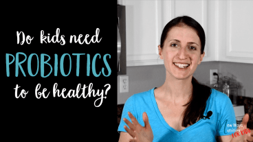 Talking about probiotics and how you can get them for your kids in this video.