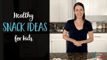 Want to make sure you're optimizing your kids snacks to ensure they can make it to the next meal? Check out this video for ideas on what to give for snacks to ensure they will have staying power.