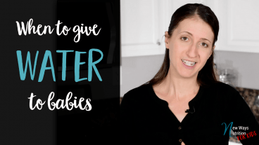 When should you start giving your baby water? Find out the answer in this video!