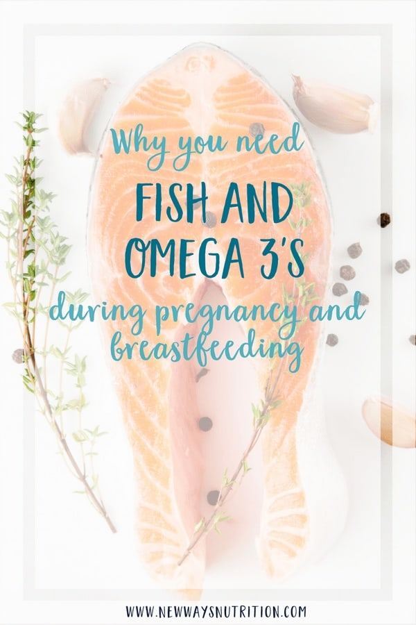 One of the most important nutrients during pregnancy and breastfeeding is Omega 3\'s. They can help with baby brain, eye, and communication development! But can you get all the benefits from the supplements instead of the food sources? #pregnancynutrition #whattoeatinpregnancy #babynutrition #foodsforbreastfeeding