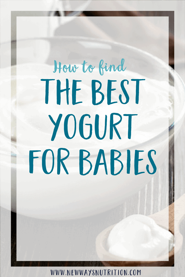Most parents have a lot of questions when it comes to the best yogurt for babies. Should it be organic? Does it need to be plain? Click through for all the details! #babynutrition #yogurt #babyyogurt