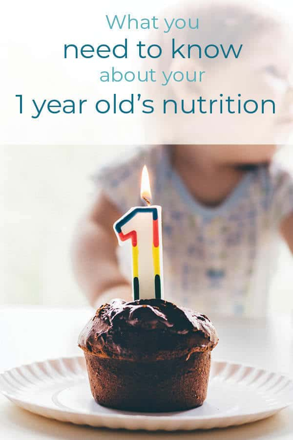 Everything you need to know about what to feed a 1 year old. Can you give a one year old sugar? How about can you give a one year old salt? Click through for all the details! #dietitian #1yearold #toddlerfood