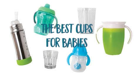 Do you know what the best baby cups are for your child? Not just from a mom standpoint, but from a development standpoint? Learn from a feeding specialist what you should be looking for when buying cups for your baby! #babycups #bestbabycups