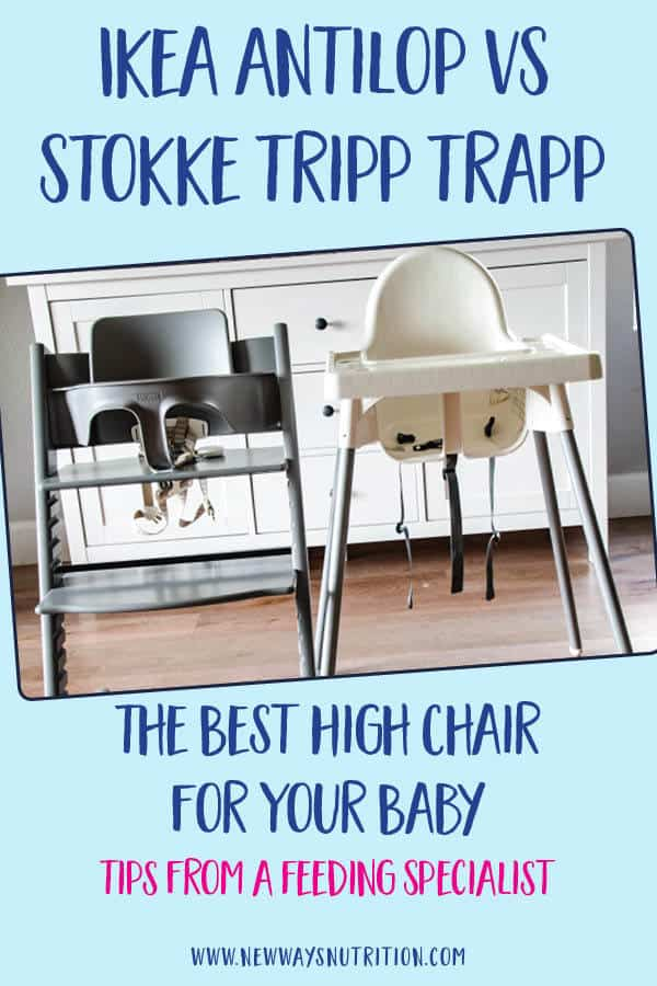 Is it really worth it to buy an expensive stokke high chair? The Stokke Tripp Trapp is much more expensive than the Ikea Antilop, does it really make a difference in feeding your baby? The answer is yes! Find out what you should be looking for when it comes to feeding your baby, and what is important to have in a high chair. Whether you are planning your baby registry of already feeding your baby, check out these important tips! #feedingtips #childnutrition #besthighchairs