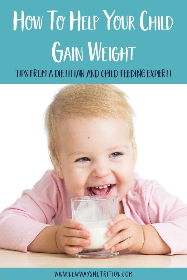 Having a kid who isn't gaining weight can be nerve wracking. Get tips here from a feeding expert to help you learn how to safely help your child gain weight, including a food list of high calorie foods and tips for how to serve them.