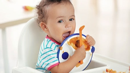 When you think of the best plates for babies and toddlers, do you think divided plates? Maybe the suction mats that are so popular? While those aren't bad plates for babies, often times they just aren't necessary and can act as a barrier to meal time behaviors! Find out here what plates are the best options for your baby or toddler straight from a feeding expert!