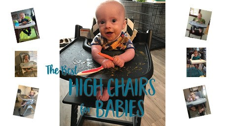 The best high chairs for babies and toddlers need to fit your space and be easy to clean, but they also need to promote proper positioning for babies and toddlers! What most reviews don't talk about is how the high chair actually does what it is intended to do, and that's get your baby in a position to eat their food! Click through for a detailed review of popular high chairs from a feeding perspective, and how to modify them if you've already bought one.