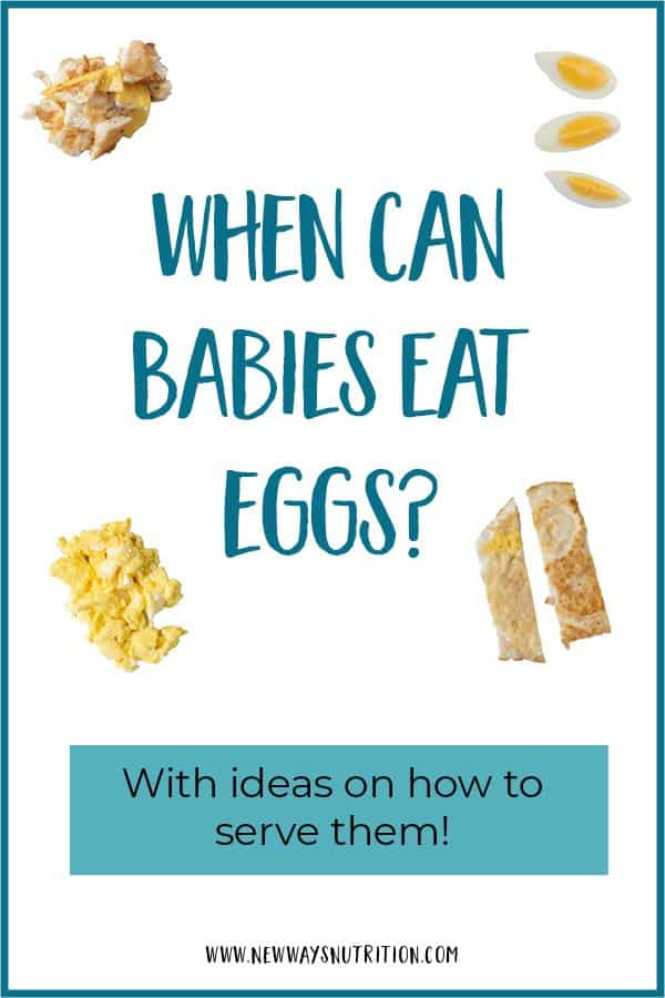 When Can Babies Eat Eggs-With Ideas on How to Serve Them