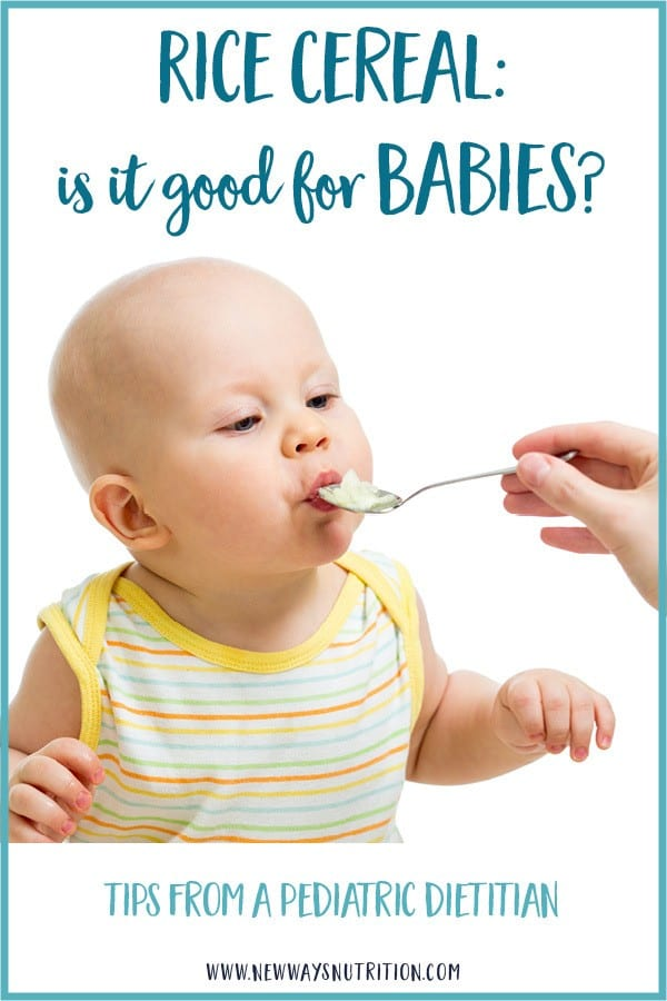 Rice Cereal- Is It Good For Babies?
