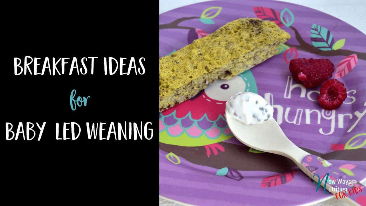 Breakfast ideas to help you think of new foods to feed your baby!
