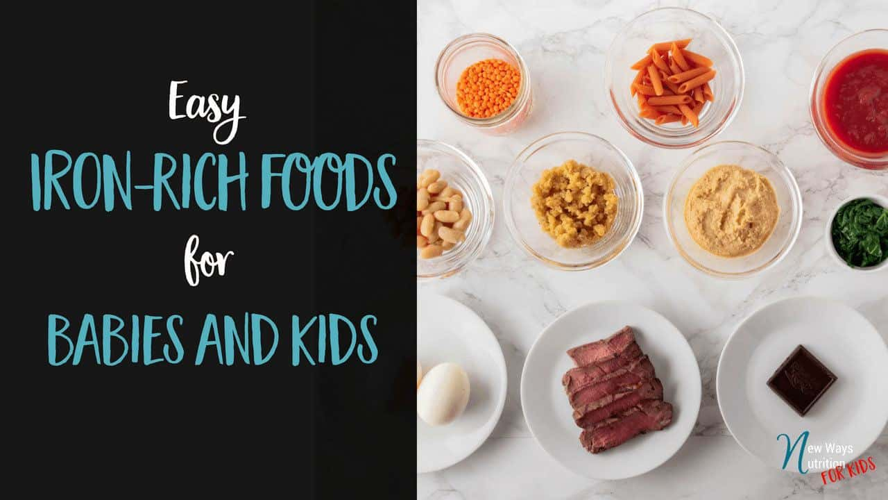 Iron-rich foods to feed your kids.