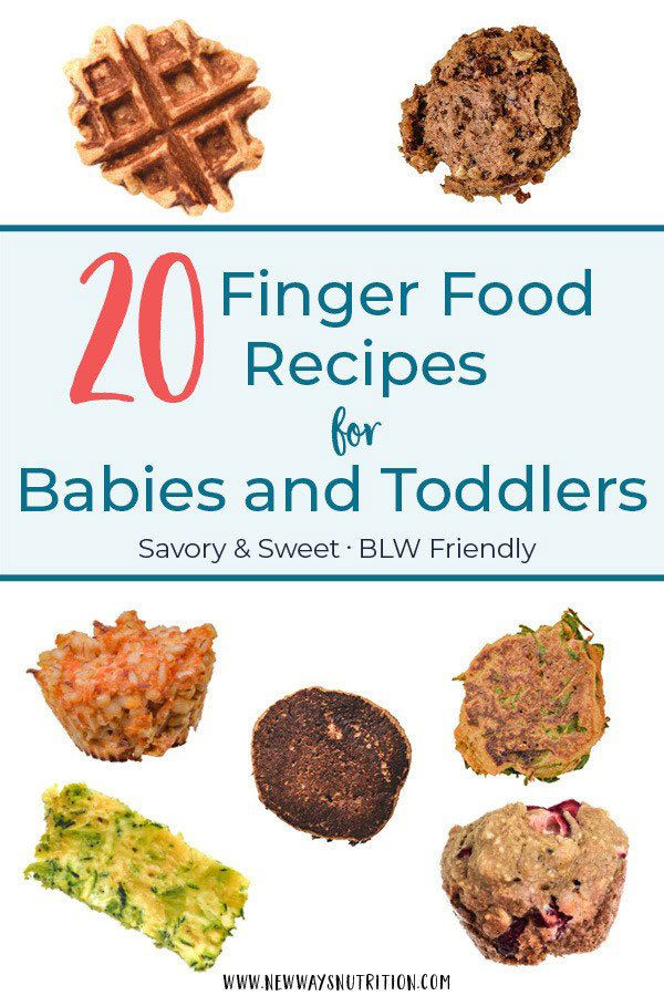 Do you struggle to come up with nutritious meals and snacks that are easy for your toddler or baby to eat? Here are 20 dietitian approved finger foods recipes to help you feed your baby or toddler healthy meals. Baby led weaning friendly, and all recipes are suitable as healthy baby led weaning recipe options. #babyledweaning #toddlermeals #healthykidsfood #fingerfoods