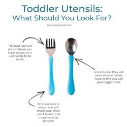 The Best Toddler Utensils || New Ways Nutrition