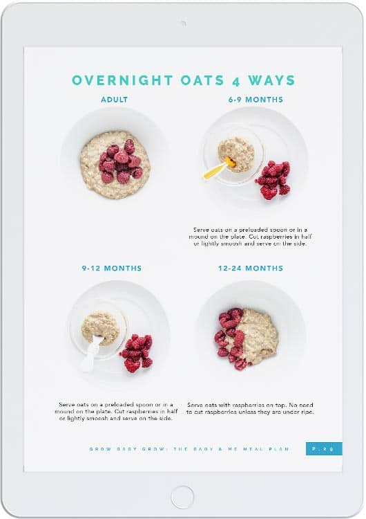 Baby and Me Meal Plan | New Ways Nutrition