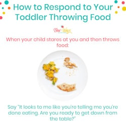 Toddler Food Throwing | New Ways Nutrition