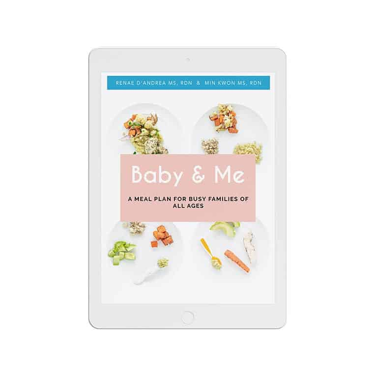 Baby & Me Meal Plan   New Ways Nutrition