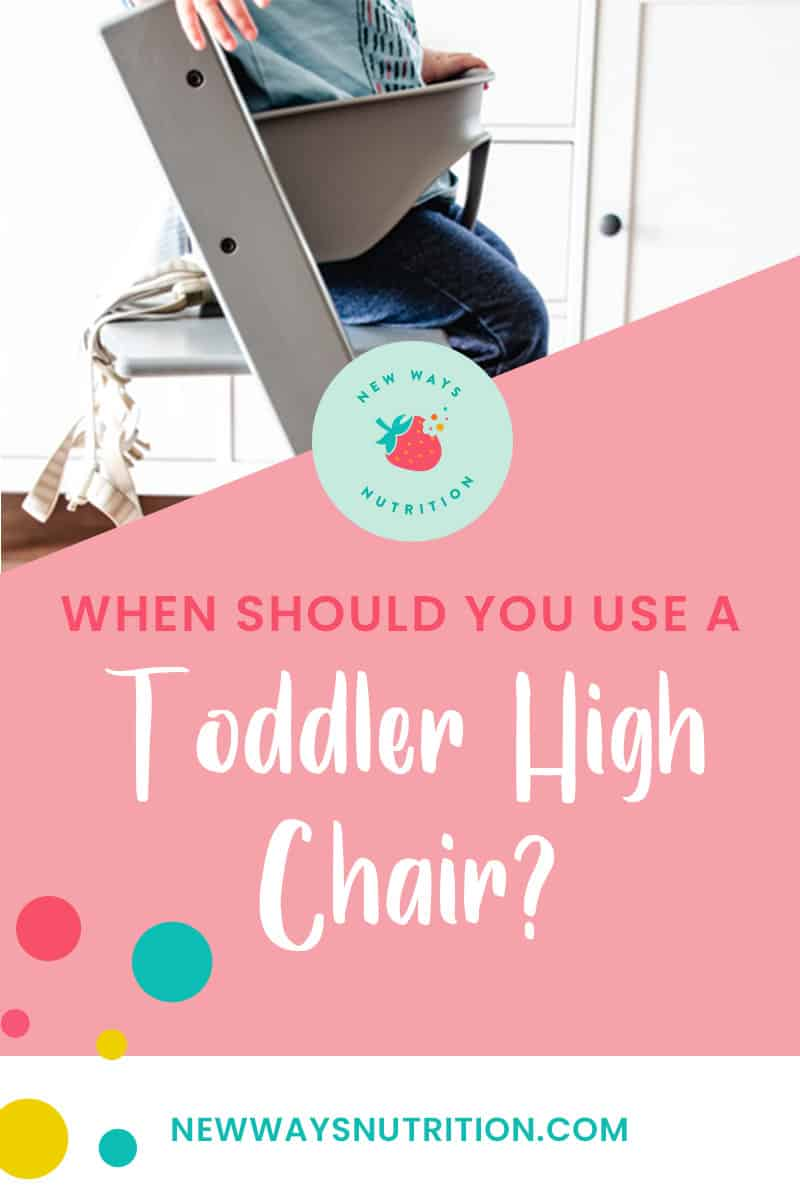 Toddler High Chair || New Ways Nutrition