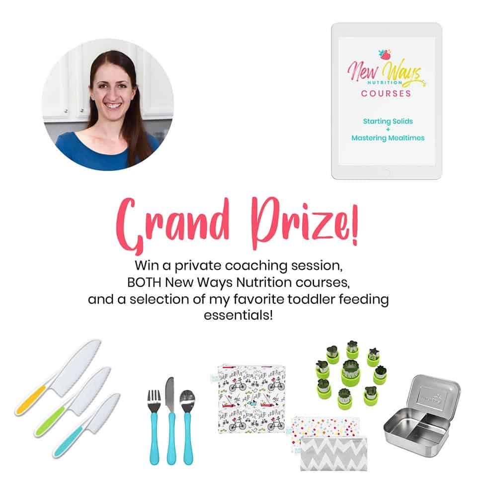 Toddler Prize | New Ways Nutrition