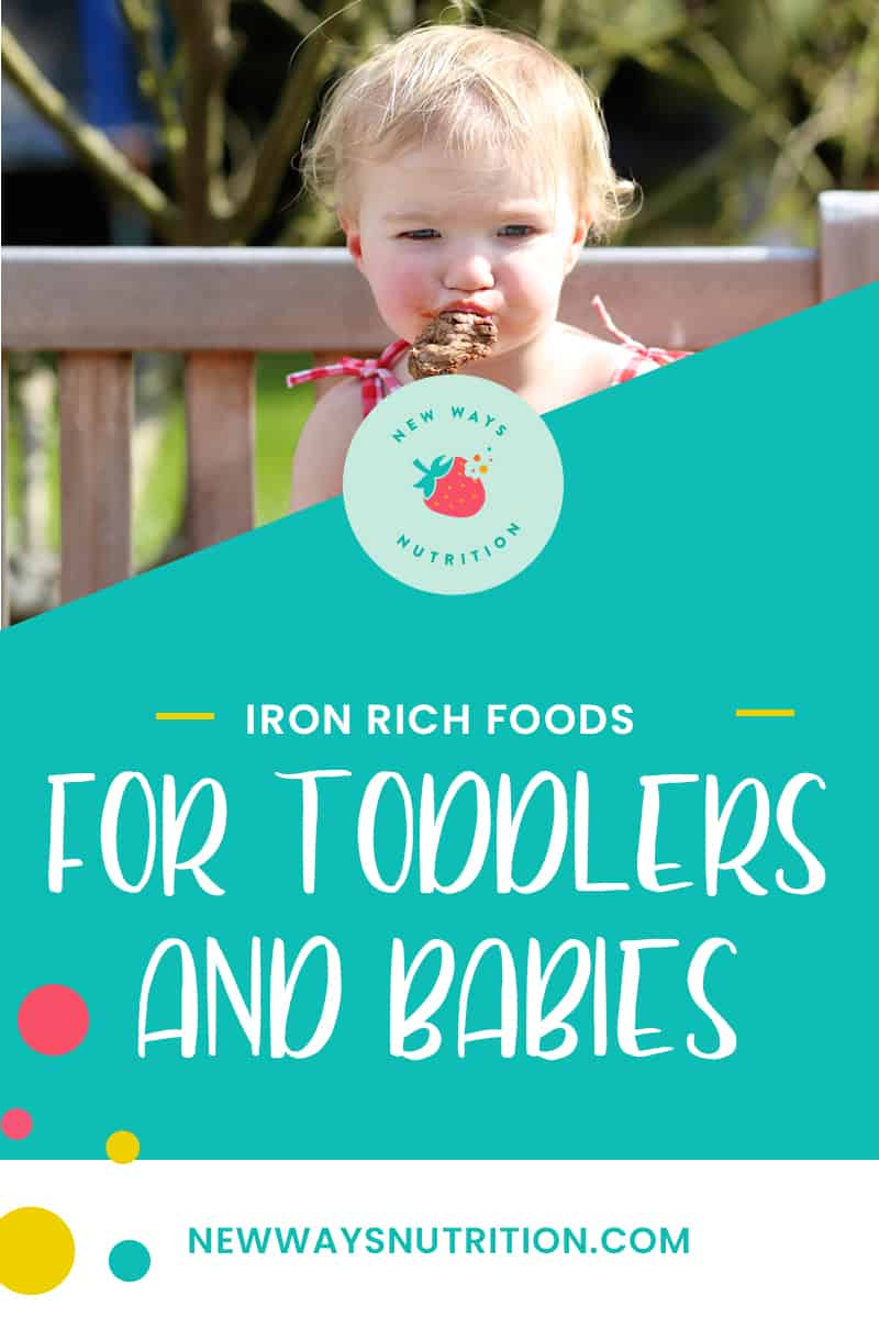 Iron-Rich Foods for Toddlers and Babies | New Ways Nutrition
