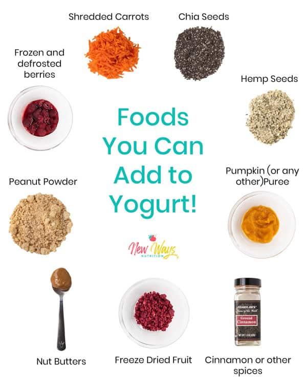 Yogurt Add Ins | New Ways Nutrition