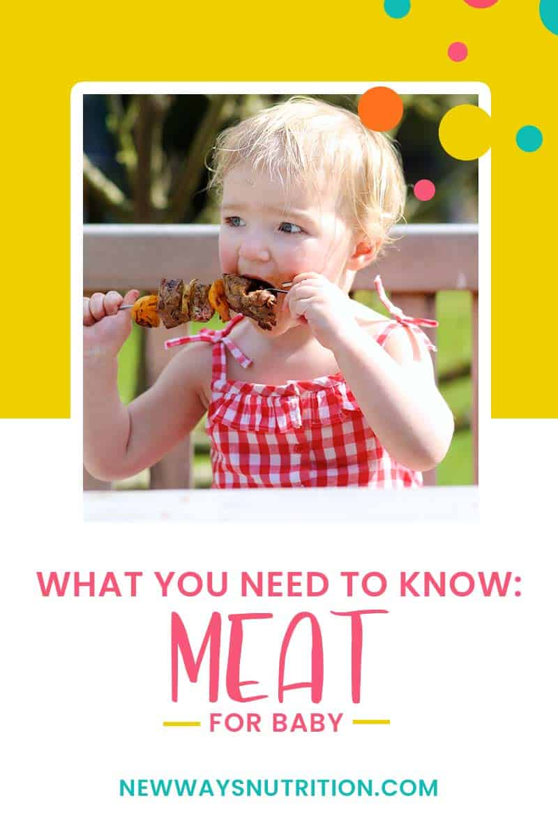 Meat for Babies: What You Need to Know | New Ways Nutrition