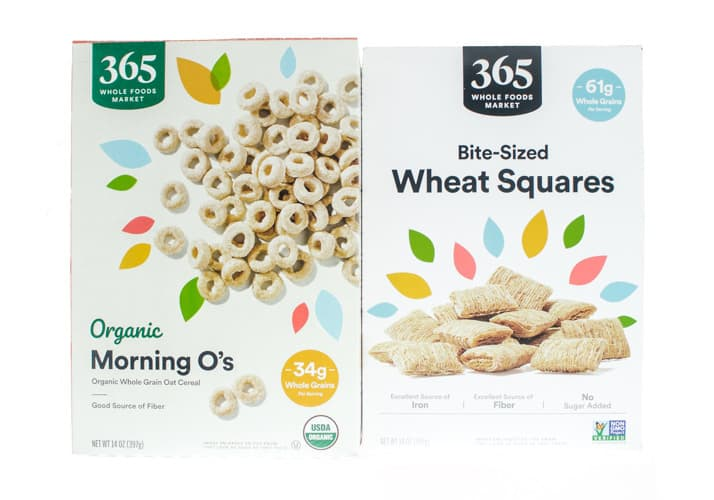 Morning O's and Wheat Squares