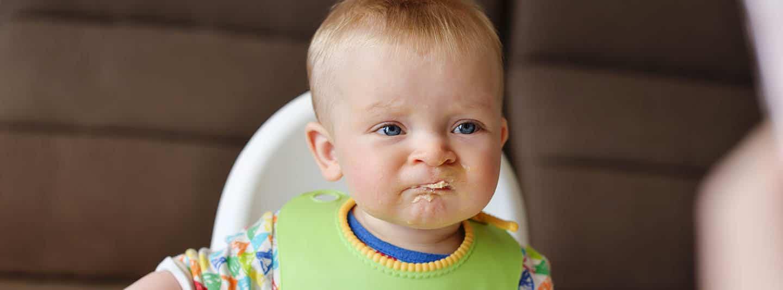 kid refusing to eat